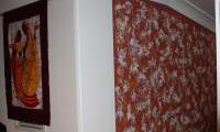 Creative finish on the feature wall in Spearwood
