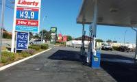 Liberty Petrol Station in Spearwood after painting