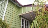 Exterior repaint of Weatherboard house in Palmyra
